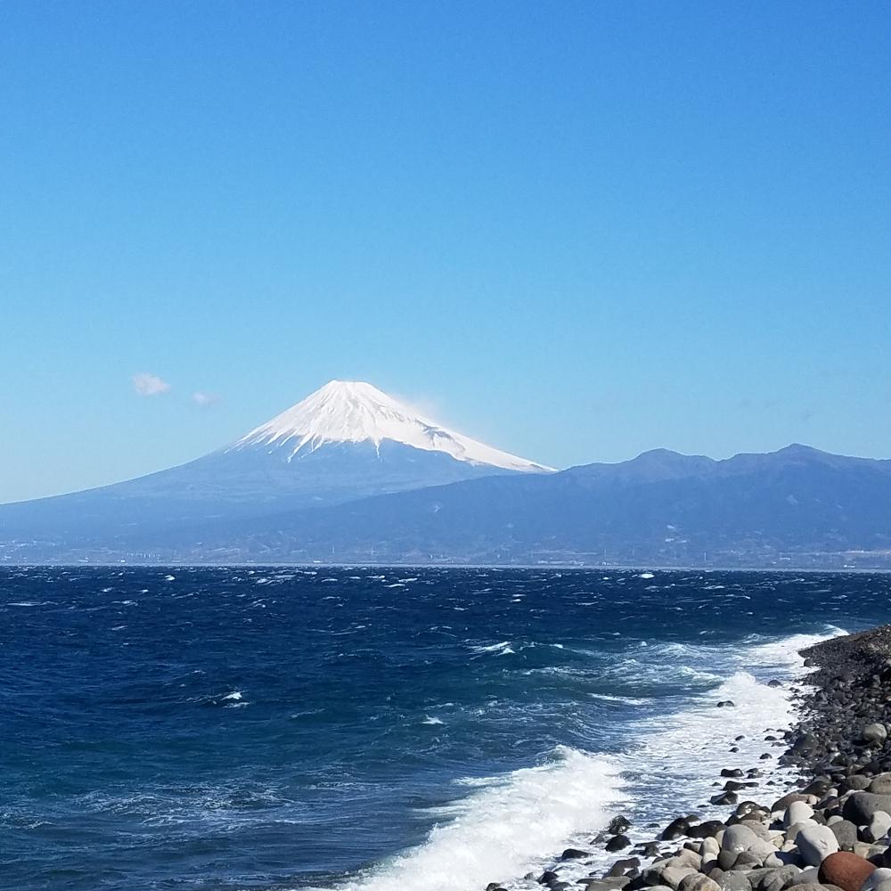 富士山と海の絶景