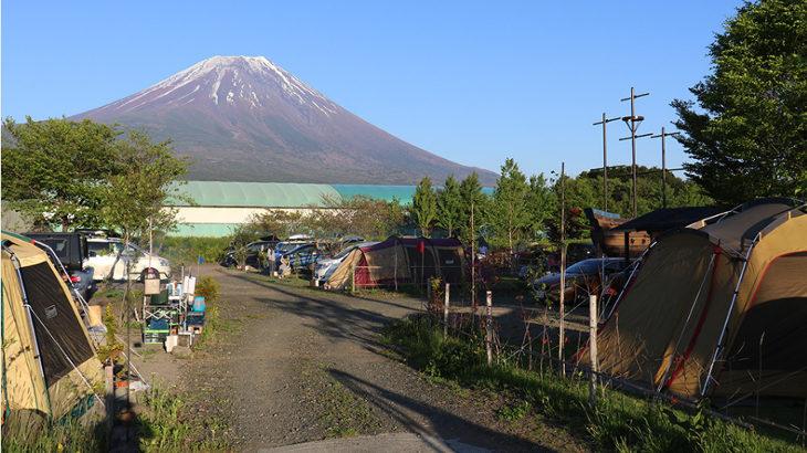 静岡県東部キャンプ場