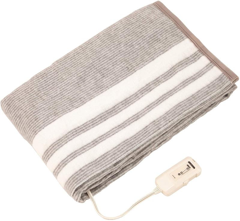 キャンプ中に使う電気毛布